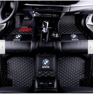 Tapis de sol de voiture pour BMW tous modèles E30 E34 E46 E60 E90 f10 F30 de la série X6 X1 X3 X5
