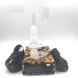 석영 E 못 Enail 코일 히터 20mm와 PID 온도 조절기 전기 소량 네일 상자 키트