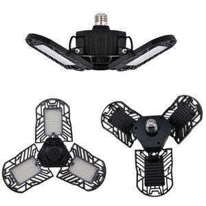 Neue mode 60 Watt Led Verformbare Lampe Garage licht E27 LED Maisbirne Radar Hause Beleuchtung Hohe Intensität Parkplatz Lager Industrie lampe