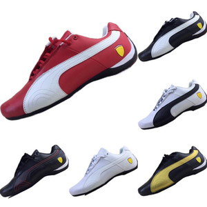 2019 Classique Future Cat Tout cuir Splicing Motorsport Chaussures Casual Future Cat M2 Mix RB Kart Souliers simple 35