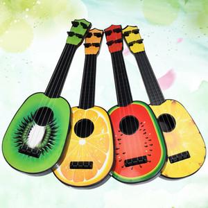 Crianças Fruit Educação Retro Ukulele guitarra pequeno Toy Instrumento Musical