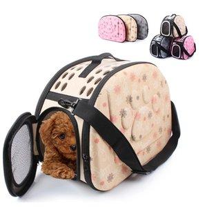 Início Jardim Outdoor Pet portátil Pet respirável Shoulder bag bolsa Espaço Gatos EVA Dogs Backpack Folding Viagem Shoulder Bag Gatos Cães