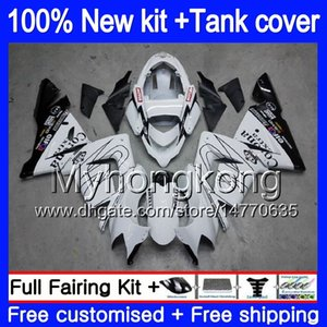 Body + Serbatoio per KAWASAKI ZX ZX1000 CC 10 R ZX10R 2004 2005 214MY.5 ZX10R 04 05 ZX1000C 1000CC ZX 10R 04 05 ABS carenature nero caldo