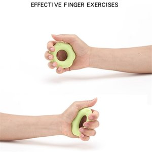 Silicone Hand - Muscle Developer Hand Resistance Ring With Salient Point Massage Ring Fitness Grip Ring Pinch Meter