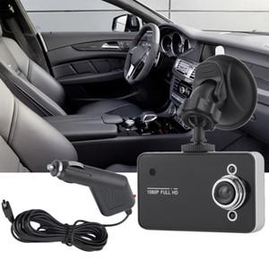 Full HD 720P TFT Camera Car DVR Camera Recorder videocamera portatile della camma del precipitare del veicolo con G-sensor Registrator con vendita al dettaglio BoxFree Spedizione