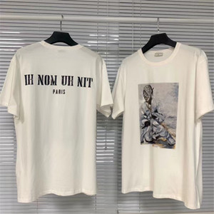20ss Últimas Hip-Hop Streetwear ih nom uh nit camiseta de los hombres mujeres pareja de manga corta de gran tamaño Ih Nom Uh Nit camisetas Top Tees