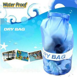 10L Wasserdicht Lagerung Dry Bag Außenschwimmsport Big Capicity Capable Unisex PVC Hot Verkauf LJJN38