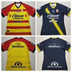 2020 Club Atlético Monarcas Morelia casa giallo rosso Jersey di calcio 19/20 Uomini blu giallo camice di calcio delle uniformi di gioco non vengono stampate