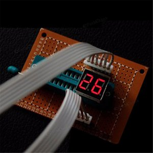 DIY PCB 회로 기판 디지털 LED 전자 시계 알람 키트는 6 자리를 설정