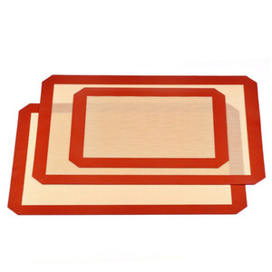 Silicone Baking Mats Non Stick Sheet Mat Food Grade Liner Sheets for Making Cookies Bread and Pastry