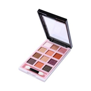 12 Colors Naked Eyeshadow Palette Matte Shimmer Creamy Texture Eye Shadow Pallet with Brush