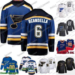 6 Marco Scandella 2020 All Star St. Louis Blues Vladimir Tarasenko David Perron Ryan O'Reilly Alex Pietrangelo Binnington Blais Jersey