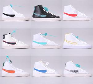 W Blazer Mid 77 VNTG Abbiamo pelle scamosciata scarpe da corsa d'epoca Mens Skateboard formatori Uomini Bianco Giallo Donne Designer dimensioni Sport Sneakers 36-45