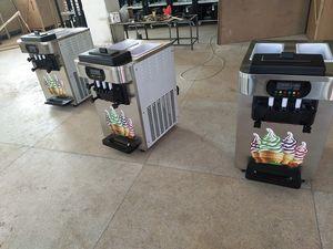 الآلات التجارية Soft Ice Maker Maker Machines