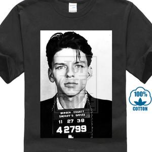 Frank Sinatra T-Shirt Sinatra Fahndungsfoto T-Shirt Blues Jazz Dtg Sommermode Lustige Druck-T-Shirts