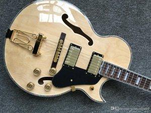 높은 품질 이상의 새로운 자연 중공 재즈 기타 L5 기타 중국 도매 OEM 재즈 일렉트릭 기타 HOT 세일 무료 배송