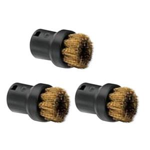 Set von 3 Ersatzbürsten - für Kärcher Dampfreiniger SC952 SC1020 SC1052 SC1122 SC1125 SC1402 - Umweltfreundlich Haltbar - 18cm x 8cm x 8cm