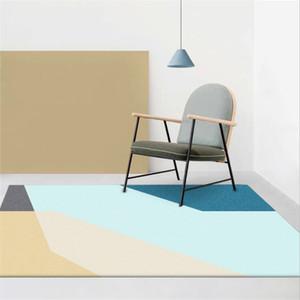 Teppiche und Teppichböden für zu Hause Wohnzimmer Europäische und amerikanische geometrische Teppichböden für Kinderzimmer Mechanical Wash