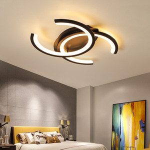 Nouveau design de lampes chambre salle à manger lampe de plafond LED, éclairage moderne lampes plafonnier LED