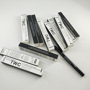 NYX twc Timer Doppel Eyeliner untra-portable wasserdichte doppelte Eyeliner Grenzstein beweglicher Entwurf doubke-headed Eyeliner dhl enthalten