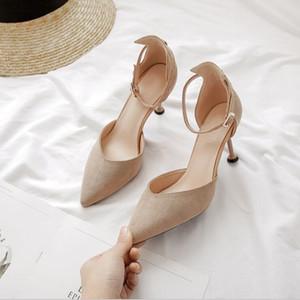 New Chevron Leder espadrille Doppel Brief Frauenfischer 5.5cm verdicken Schuhe Schuhe Luxus-Designer-Mode Sandalen Plattform Leder