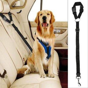 Ayarlanabilir Köpek Koltuk Emniyet Kemeri Demeti Araba Köpek Emniyet Halat Tasma Talepleri için Kemer Polipropilen Pet Emniyet Kemeri Araç