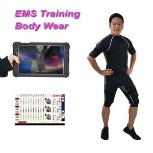 최신 전문 프로 체육관 EMS 체력 훈련 기계 무선 EMS 트레이너 근육 자극기 피트니스 정장 기계를 xems
