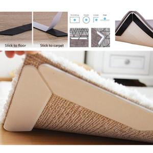 8PCS Anti Slip Soft Mat Rug Carpet Anti Curling Rug Grippers Tape Floor Home Rug Carpet Mat Gripper Non Slip Skid Reusable Grip YD0479