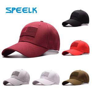 Speelk High Quality USA Flag Baseball Caps Women Casual Snapback Hats Men Sun Visors Hat Unisex New Casquette Cap Wholesale