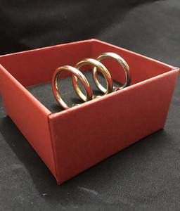 316 al por mayor anillos de titanio amor tornillos de acero de uñas Bagué Ringe moissanita para hombre y mujeres joyería del partido de parejas amantes regalo