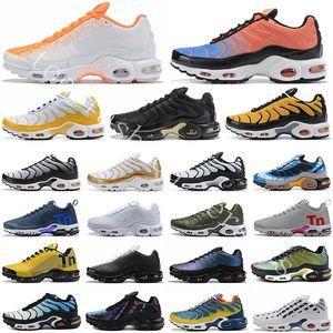 2020 Bred vapor mercurial Sólo Malla Plus Ultra TN SE Airs Cojín de los zapatos corrientes Hombres Mujeres láser fucsia Hyper carmesí Maxes Deportes zapatillas de deporte