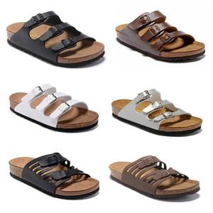 Florida 2020 Yeni Yaz Beach Mantar Terlik Sandalet Casual Çift Toka Takunyalar Sandalias Kadınlar erkekler Terlikler Flats Ayakkabı Slip