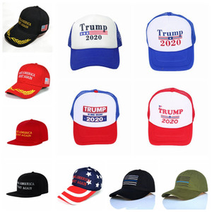 Donald Trump Cap 12 Styles Make America Great Again Baseball Cap Trump 2020 Hat Outdoor Summer Party Hats OOA6848