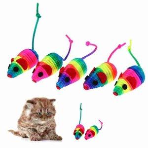Забавный Мех Кролика Ложная Мышь Pet Cat Игрушки Мини Забавные Игрушки Для Кошек Котенок Pet Аксессуары