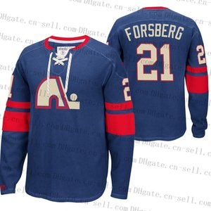 Quebec Nordiques 91 Nazem Kadri Retro Pullover Red Heritage Blue Hoodie 21 Peter Forsberg Graves Valeri Nichushkin Jerseys Custom Stitched