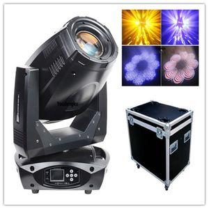 2pz con flightcase alta lumen luce Pro fase mobile a LED r17 testa 300W LED iride lavata punto luce in movimento testa