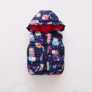 BOTEZAI Kinder Kleidung OuterwearCoats 2017 neue Herbst-Baby-Kleidung Sleevele Tier Graffiti-Druck für Grils Jacken