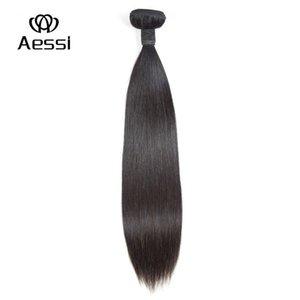 Pronto Aessi della 14inch-26inch capelli dritti umani indiani di qualità eccellente fascio estensioni tessere