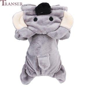 Transer Forme Koala mignon chien Jumpsuit chien Vêtements d'hiver doux en molleton animaux Cat chiot petit chien Barboteuses Survêtements 910