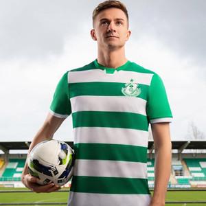 Shamrock Rovers pullover domestico di calcio 2020 2021 maglia di calcio 20 21 Shamrock Rovers maniche corte pullover di Camisa de Futebol T-shirt