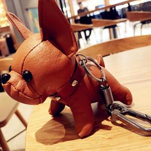 Tasarımcı çanta Bulldog kolye Çanta kolye Araç Dekorasyon Luggages Çanta Parçaları Aksesuar Hediyeler Çirkin Bebek Süsler Sevimli