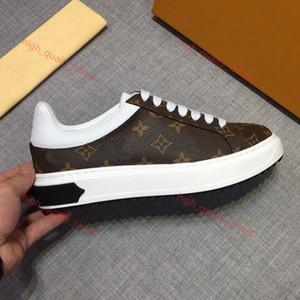 Louis Vuitton 2020 Мужская мода кроссовки кожа Повседневная обувь не Balck Pure мужчин женщин плоские туфли не коробка размер 39-44 xshfbcl