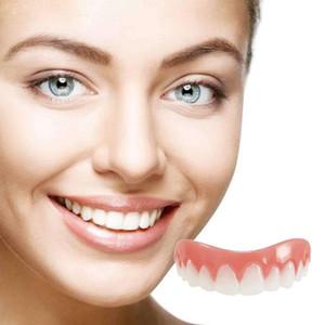 Perfect Instant Smile Comfort Fit Herramienta de cubierta de dientes falsos Silicona Smile Veneers Simulación Brackets