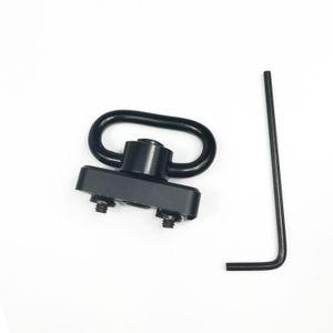 1,25-Zoll-QD-Sling mit Druckknopf-Drehhalterung für Universal-Keymod-Handschutzschienen