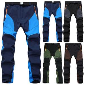New Pantalons Outdoor hiver Polaires Survêtement Hommes Pantalon coupe-vent Camping Randonnée Pantalon d'escalade