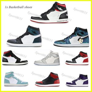 1s Jumpman shoes,1 Top3 Crystal Green 1s Shadow Solefiy Mens Basketball Shoes Retro High OG Not For Resale Union x NRG Sneaker