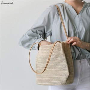 Straw New Women Bags Straw Shoulder Handbag Tote Messenger Hobo Satchel Bag Beach Bags