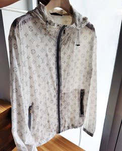 20ss Paris designer Full printing sun-protective Jacket Women Men Coat Casual jumper Sweatshirts Streetwear Pullovers Outdoor Hoodies 6.28