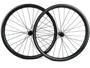 29er ايحتاج عجلات الدراجة الجبلية الكربون 40 مم العرض 30 مم عمق الكربون MTB DH مع محور DT
