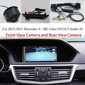 Inserción gratuita cámara de visión frontal/trasera en el adaptador de coche interfaz de vídeo para-una clase W176 A180 A200 A250 NTG 4,5 sistema